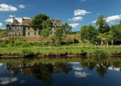 Hôtel Le Keréden - Activités - Abbaye de Bon Repos et canal