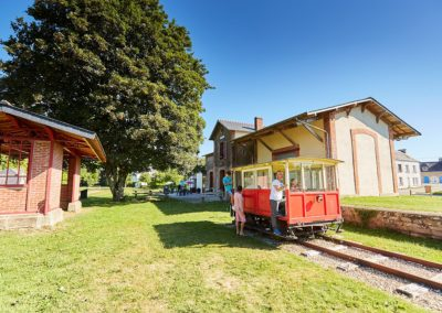 Hôtel Le Keréden - Activités - Train et visite